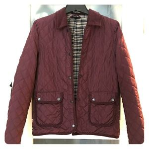 Topshop || quilted jacket